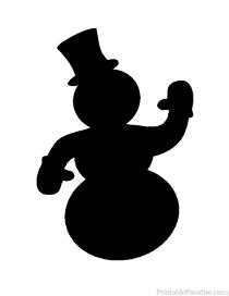 Printable Christmas Silhouettes - Free Christmas Silhouettes
