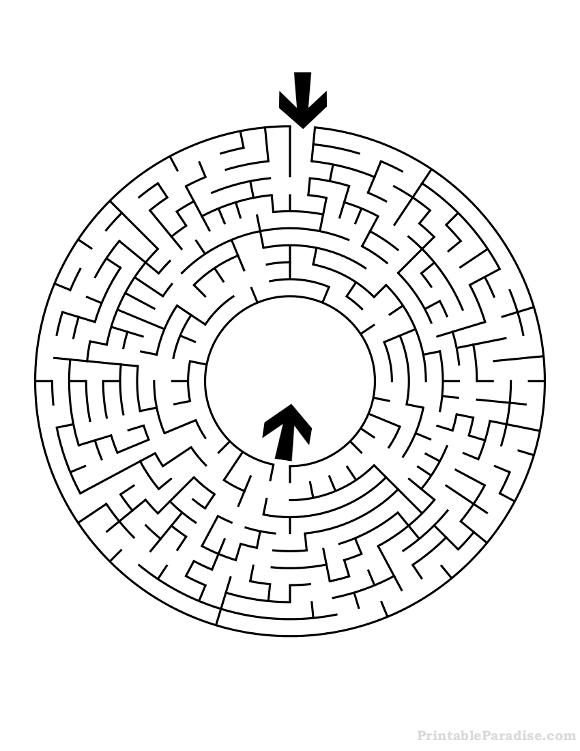 Printable Mazes  Print Free Mazes