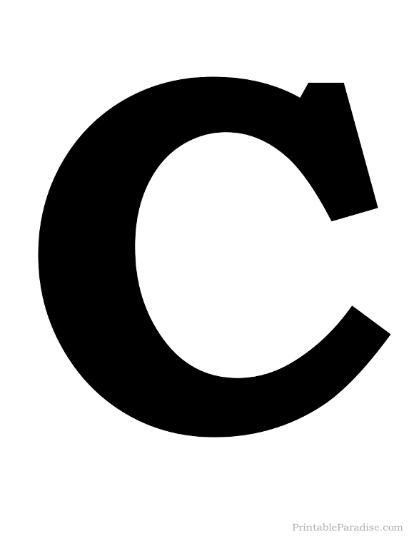 Letter C Coloring Pages - GetColoringPages.com